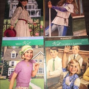 4 Used Kids American Girl Books